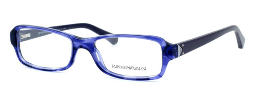 Emporio Armani Designer Reading Glasses EA3016-5098 in Purple