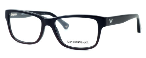 Emporio Armani Designer Reading Glasses EA3051-5348 in Black