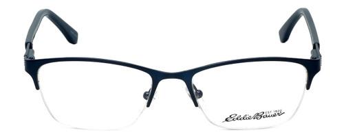 Eddie-Bauer Designer Eyeglasses EB8602 in Satin-Navy 51mm :: Rx Single Vision
