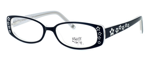 Hilary Duff HD122373-069 Designer Reading Glasses in Black & White