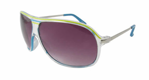 Calabria Fashion Sunglasses That 70s in Blue