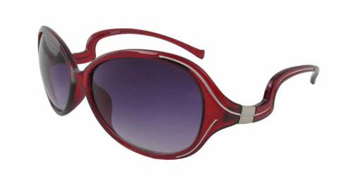 Calabria Fashion Sunglasses Crazy Mary in Wine