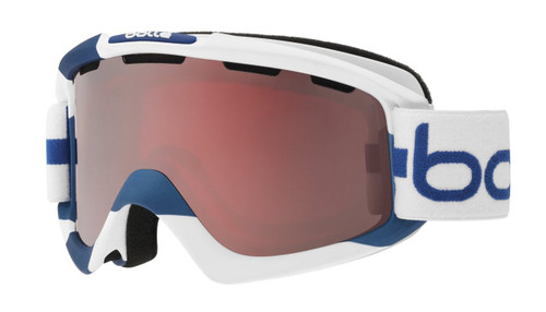 Bollé Ski Goggles: Nova in Limited Edition Finland Colorway with Vermillion Gun Lens