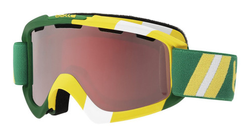 Bollé Ski Goggles: Nova in Limited Edition Australia Colorway with Vermillion Gun Lens