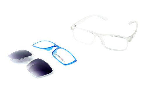 Switch and Go Switchable Eyewear 018-C4 in Crystal Clear