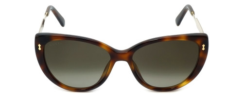 Gucci Designer Sunglasses GG3804-CRXHA in Dark-Havana-Gold 57mm