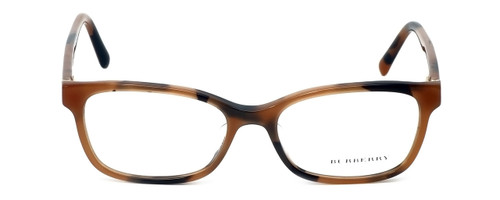 Burberry Designer Eyeglasses BE2201F-3518 in Spotted-Amber 54mm :: Progressive