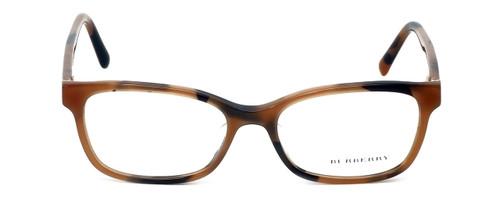 Burberry Designer Eyeglasses BE2201F-3518 in Spotted-Amber 54mm :: Rx Bi-Focal