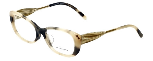 Burberry Designer Reading Glasses BE2203F-3501 in Cream-Black 54mm
