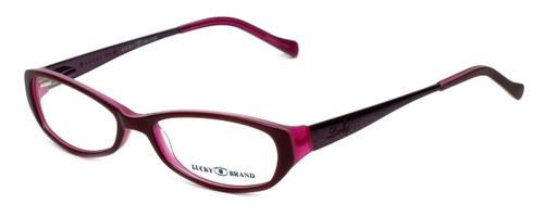 Lucky Brand Designer Eyeglasses Beach Trip in Burgundy 49mm :: Rx Single Vision