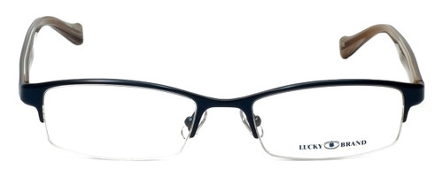Lucky Brand Designer Eyeglasses Fleetwood in Navy 53mm :: Rx Single Vision