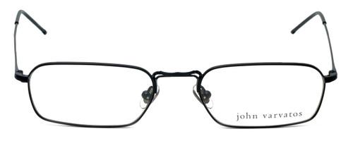 John Varvatos Designer Eyeglasses V126 in Black 52mm :: Custom Left & Right Lens