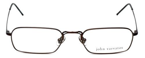 John Varvatos Designer Eyeglasses V126 in Brown 52mm :: Custom Left & Right Lens