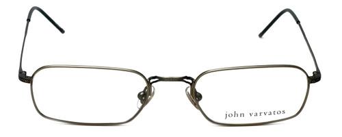 John Varvatos Designer Eyeglasses V126 in Pewter 52mm :: Custom Left & Right Lens