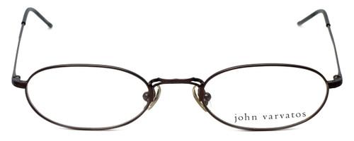 John Varvatos Designer Eyeglasses V127 in Brown 48mm :: Custom Left & Right Lens