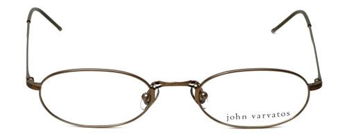 John Varvatos Designer Eyeglasses V127 in Gold 48mm :: Custom Left & Right Lens