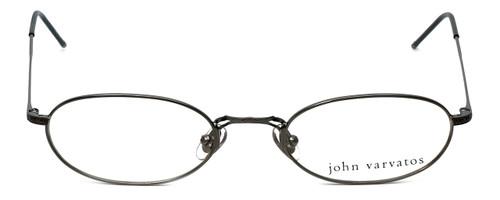 John Varvatos Designer Eyeglasses V127 in Gunmetal 48mm :: Custom Left & Right Lens