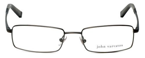 John Varvatos Designer Eyeglasses V130 in Antique-Pewter 54mm :: Custom Left & Right Lens
