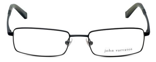 John Varvatos Designer Eyeglasses V130 in Black 54mm :: Custom Left & Right Lens