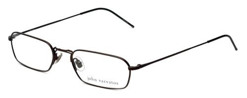 John Varvatos Designer Eyeglasses V126 in Brown 52mm :: Rx Single Vision