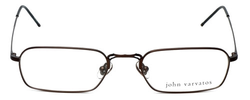 John Varvatos Designer Eyeglasses V126 in Brown 52mm :: Rx Single Vision