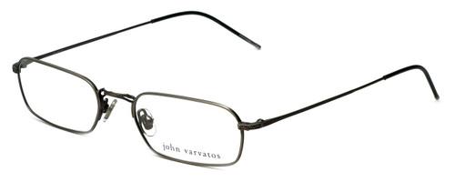 John Varvatos Designer Eyeglasses V126 in Pewter 52mm :: Rx Single Vision