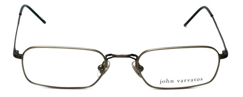 John Varvatos Designer Eyeglasses V126 in Pewter 52mm :: Rx Single Vision