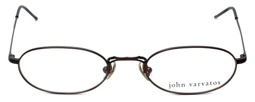 John Varvatos Designer Eyeglasses V127 in Brown 48mm :: Rx Single Vision