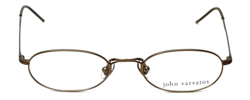 John Varvatos Designer Eyeglasses V127 in Gold 48mm :: Rx Single Vision