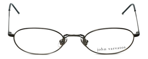 John Varvatos Designer Eyeglasses V127 in Gunmetal 48mm :: Rx Single Vision