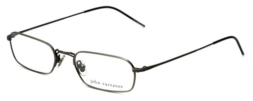 John Varvatos Designer Eyeglasses V126 in Pewter 52mm :: Rx Bi-Focal