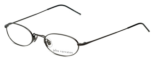 John Varvatos Designer Reading Glasses V127 in Gunmetal 48mm