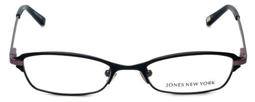 Jones New York Designer Eyeglasses J468 in Black 50mm :: Custom Left & Right Lens