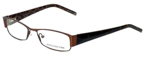 Jones New York Designer Eyeglasses J446 in Brown 52mm :: Progressive