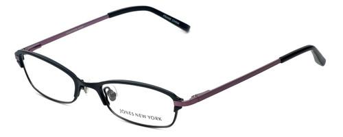 Jones New York Designer Eyeglasses J468 in Black 50mm :: Progressive