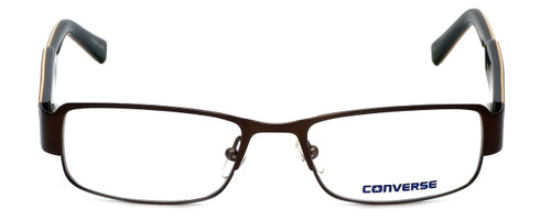 Converse Designer Eyeglasses Here to There in Brown 50mm :: Rx Single Vision