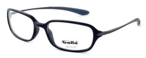 Bollé Neuilly Designer Reading Glasses in Shiny Black w/ Dark Gun