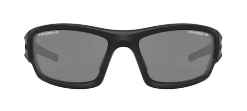 TIFOSI Tactical Eyewear Dolomite 2.0 in Matte Black, Smoke / HC Red / Clear