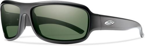 Smith Optics DROP ELITE in MATTE BLACK & POLARIZED GRAY GREEN Lens