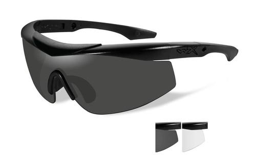 Wiley X Talon in Matte Black w/ Gray & Clear Lenses