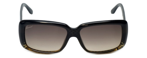 Gucci Designer Sunglasses GG3575-W8HED in Black & Brown Gradient Lens