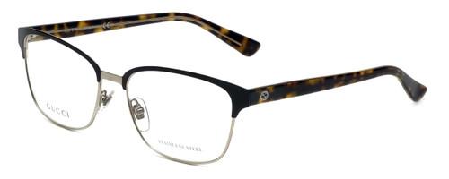 Gucci Designer Eyeglasses GG4272-02CS in Dark Brown Havana 54mm :: Rx Single Vision