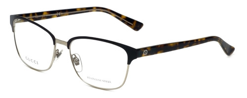 Gucci Designer Reading Glasses GG4272-02CS in Dark Brown Havana 54mm