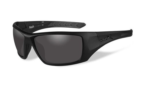 a1c0f1334f74 Wiley X Designer Sunglasses WX Nash in Matte Black Frame & Smoke Grey Lens