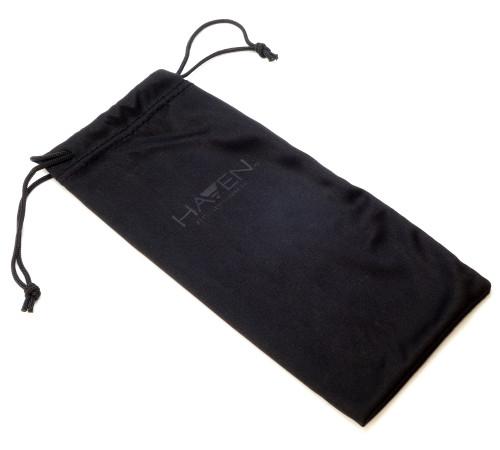 Haven Designer Fitover Sunglasses Banyan in Black & Polarized Grey Lens (XL)
