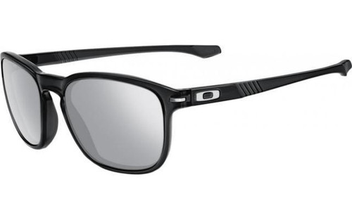 Oakley Designer Sunglasses Enduro in Black & Chrome Iridium Polarized Lens (OO9223-14)
