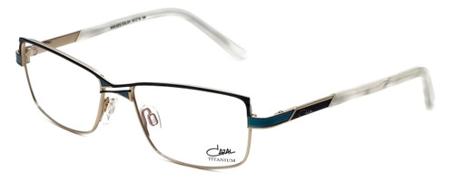 Cazal Designer Reading Glasses 4215-001 in Turquoise 53mm