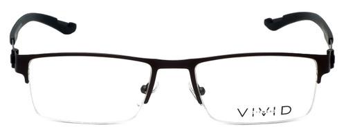 Calabria Viv Designer Eyeglasses 390 in Gunmetal 54mm :: Custom Left & Right Lens