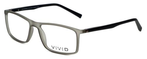 Calabria Viv Designer Eyeglasses 248 in Grey-Black 55mm :: Progressive