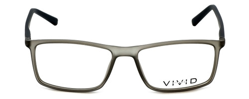 Calabria Viv Designer Eyeglasses 248 in Grey-Black 55mm :: Progressive